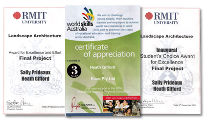 RMIT - World Skills - Awards